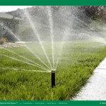 sistema de irrigação contra a seca