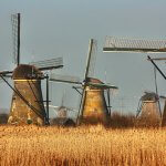 água na Holanda